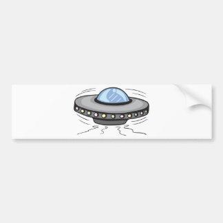UFO!  Customizable! Bumper Stickers