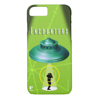 UFO Encounters-Abductions iPhone 7 Case