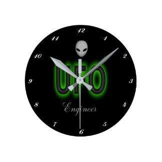 UFO Engineer Clock
