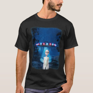 UFO Forest Encounter T-Shirt