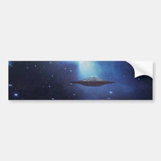 UFO galaxies Bumper Sticker