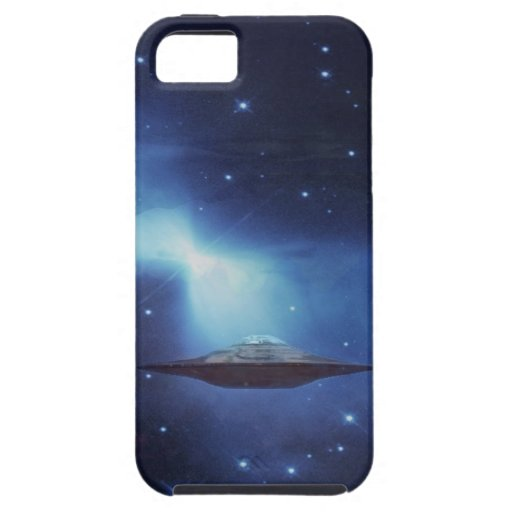 UFO galaxies iPhone 5 Cover