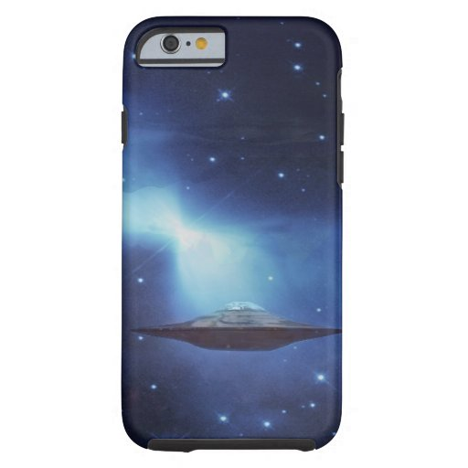 UFO galaxies iPhone 6 Case