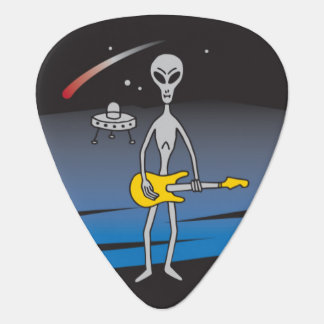 UFO Guitar Alien Guitar Pick Plectrum