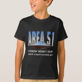 "UFO ""I know what I saw"" T-Shirt"