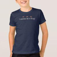 UFO I Wanna Be A Grey! T-shirt