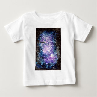 UFO in space artwork Baby T-Shirt