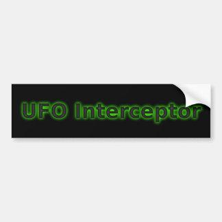 UFO Interceptor Bumper Sticker