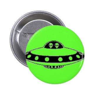 UFO INVASION! 2 INCH ROUND BUTTON
