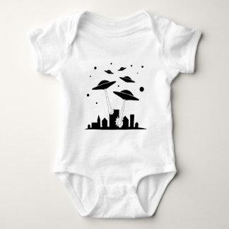 UFO Invasion Baby Bodysuit