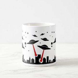 UFO Invasion Coffee Mug
