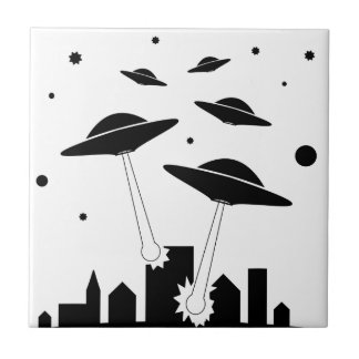 UFO Invasion Tile