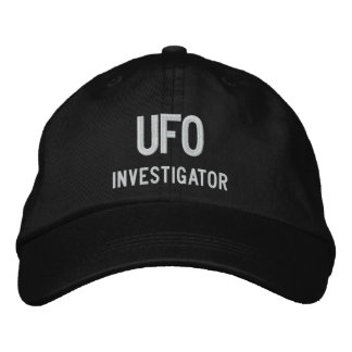 UFO, Investigator Embroidered Hat