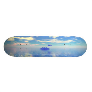UFO Island Custom Skate Board
