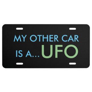 UFO License Plate