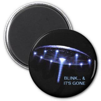 UFO Magnet, Up, Up & Away Magnet