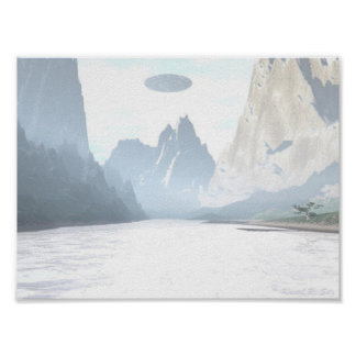 UFO - Mountain Creek Poster