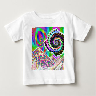 UFO over the Mountains... Visionary ART Baby T-Shirt