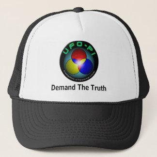 UFO-PI: Demand The Truth Trucker Hat