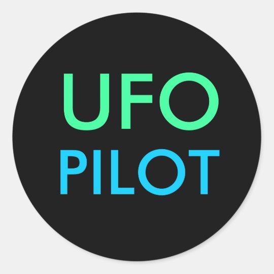 UFO PILOT stickers