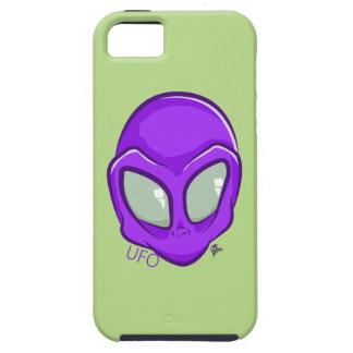 UFO Purple Alien Martian Head Cute iPhone 5 Covers