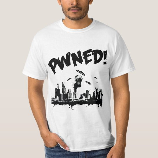 Ufo pwn bw T-shirt
