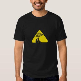 UFO Road Sign Shirt