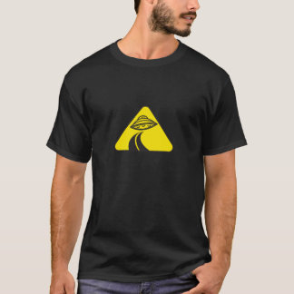 UFO Road Sign T-Shirt