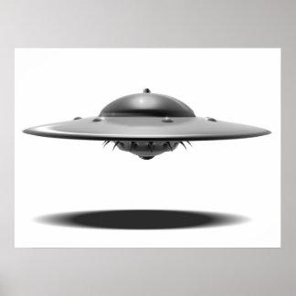 UFO Salamander Poster