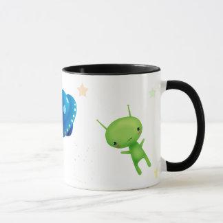 UFO Space Alien Mug