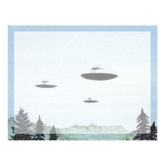 UFO Trio Letterhead