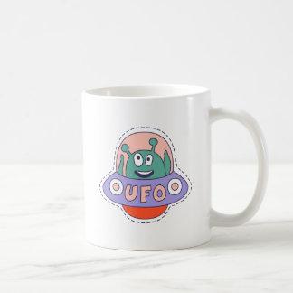 UFO With Alien Coffee Mug