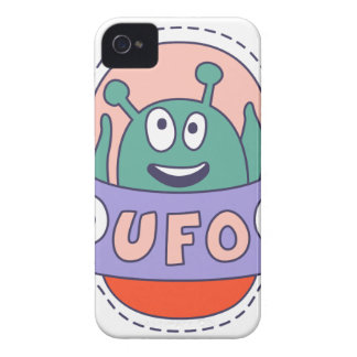 UFO With Alien iPhone 4 Cover