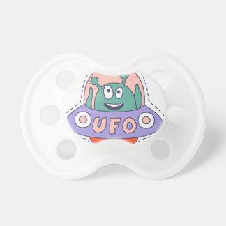 UFO With Alien Pacifier