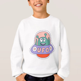 UFO With Alien Sweatshirt