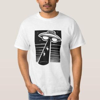 UFO - woodcut T-Shirt