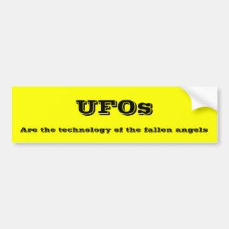 UFOs Bumper Sticker