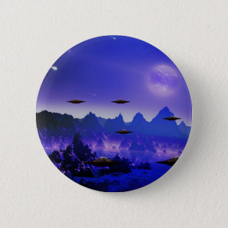 UFOs galaxies 2 Inch Round Button