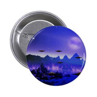UFOs galaxies 2 Inch Round Button