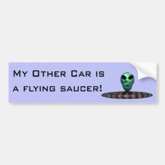 UFOsticker-1 Bumper Sticker