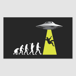UFOvolution Sticker