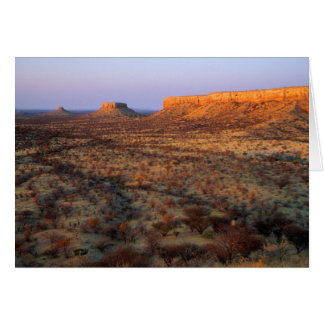 Ugab Terraces, Khorixas District, Namibia Card