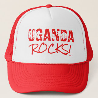 UGANADA Rocks Words Green Trucker Hat