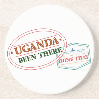 Uganda Been There Done That Drink Coaster