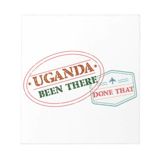Uganda Been There Done That Notepad