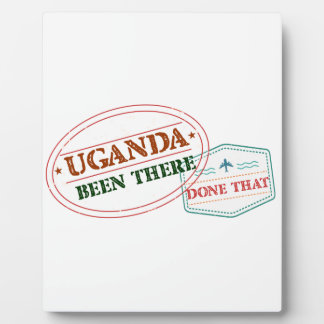 Uganda Been There Done That Plaques