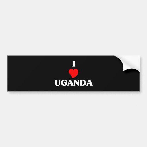 UGANDA BUMPER STICKER