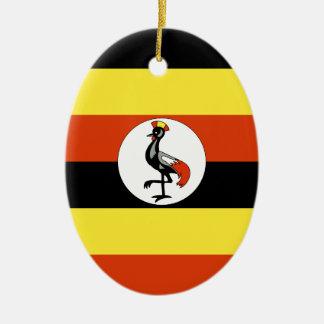 Uganda Ceramic Oval Ornament