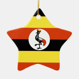 Uganda Ceramic Star Ornament