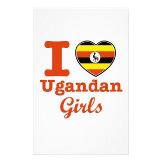 Uganda design customized stationery